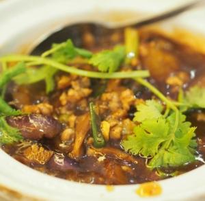Char Geylang Aubergine Minced Pork