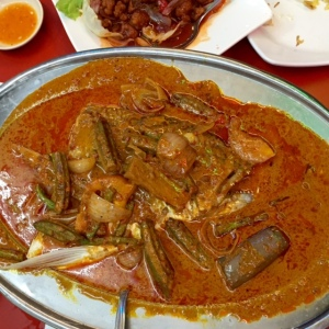 Thai Curry Fish Head, fish head curry