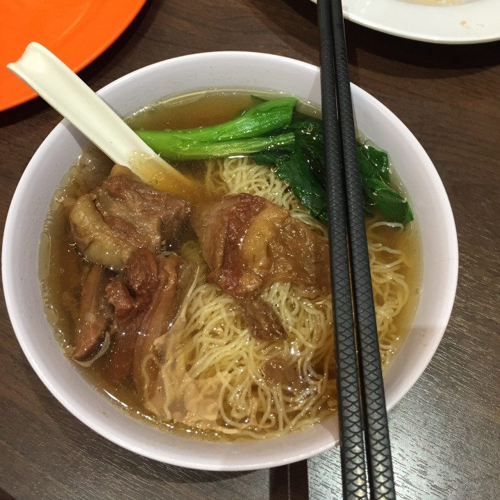 Legendary Braised Beef Brisket Noodles